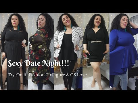 Sexy Date Night Try On!! Ft. Fashion to Figure and GS Love