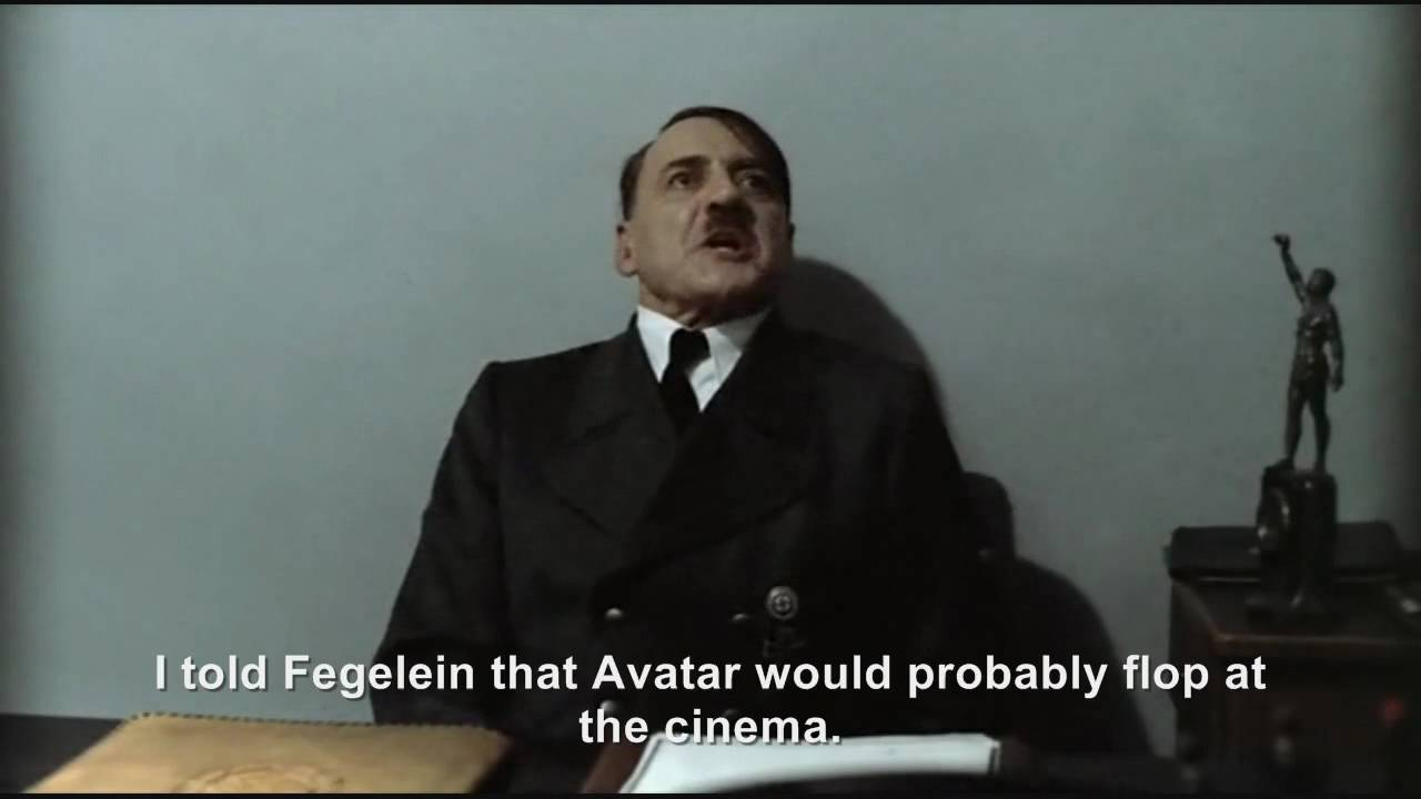 Hitler is informed Avatar has made over $2 billion worldwide