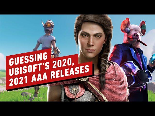 Voici ce que pourraient être les 5 jeux AAA promis d'Ubisoft en 2020-2021 + vidéo