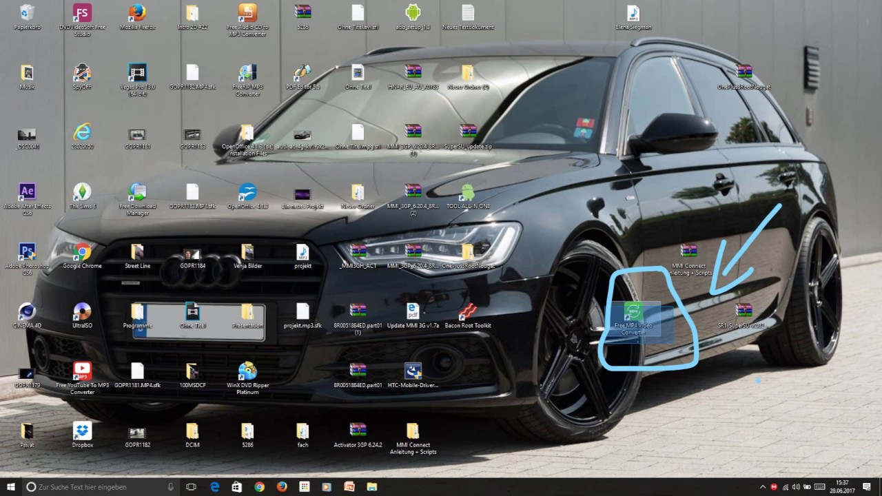 Audi MMI 3G Plus Videos von der Sd Karte abspielen