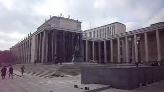 Российская государственная библиотека имени Ленина в Москве. Интересные места.
