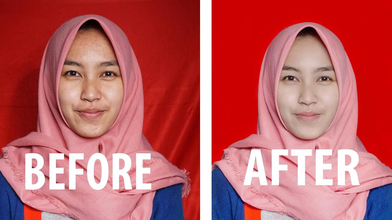 Cara Edit Foto Pas Dengan Photoshop Youtube