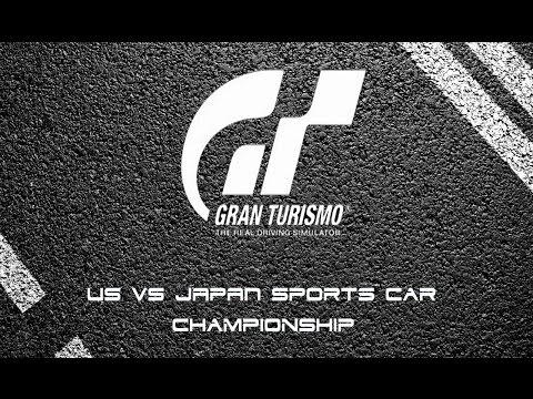 Gran Turismo USA VS Japanese Sports Car Championship