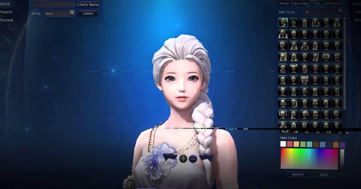 Online Character Creator