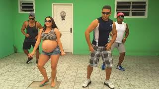 Grávida de 9 meses dançando - a Paradinha de Harmonia do Samba