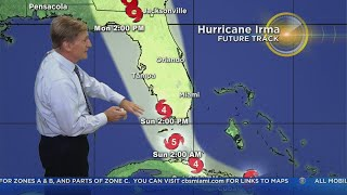 Tracking Hurricane Irma 9-8-17 8pm Advisory thumbnail