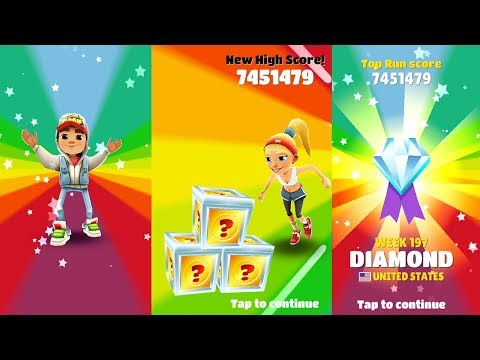 SUBWAY SURFERS: USA BEST ( MY NEW HIGH ) SCORE! (D2)