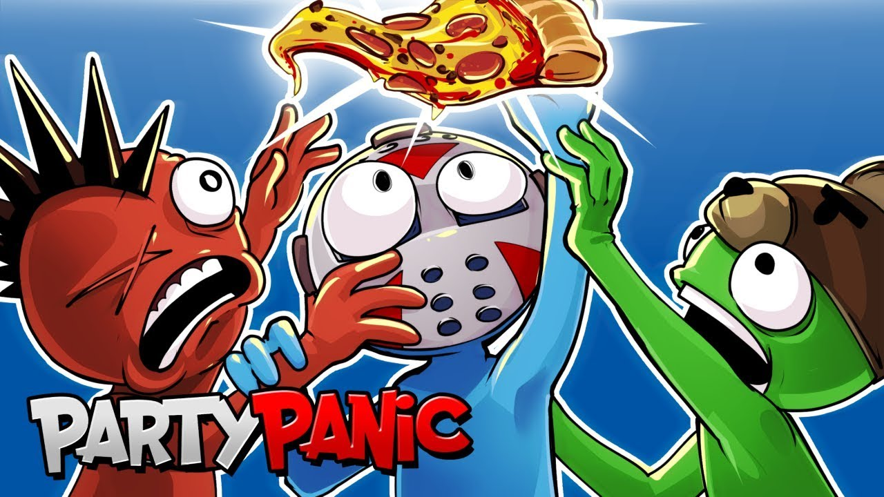 Party Panic - EXPLORING TROPHY ISLAND! (OPEN WORLD DLC!)
