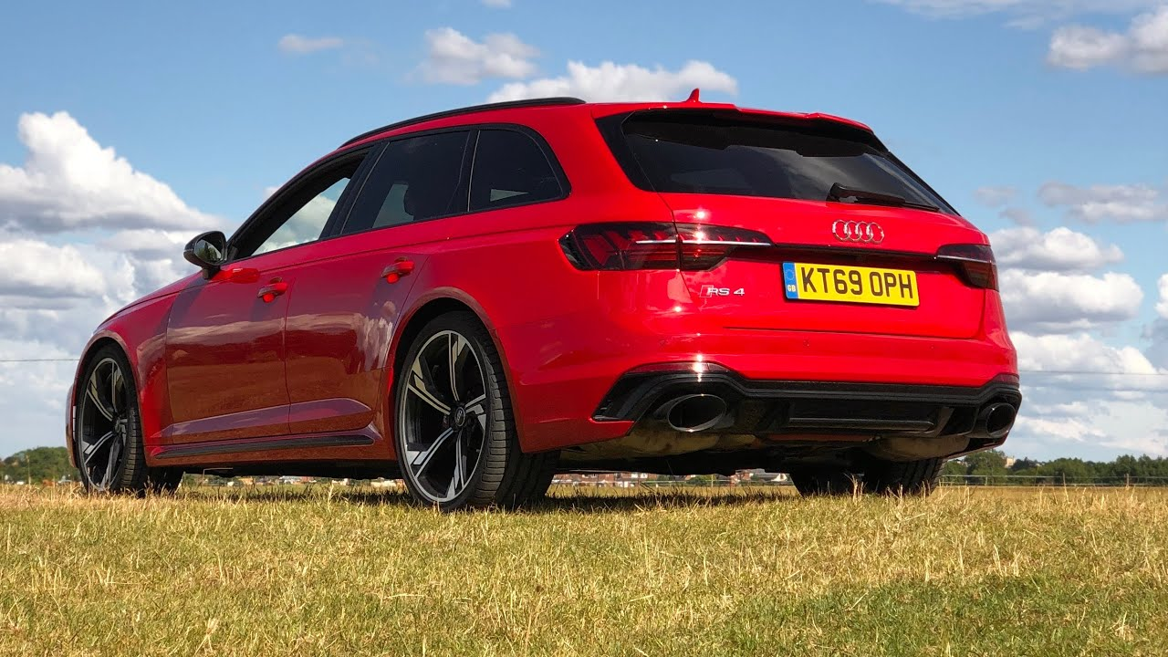 2020 audi rs4 avant review  performance shock compared to
