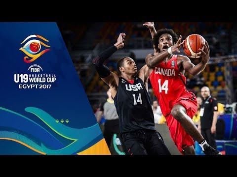 Canada v USA - Full Game - Semi-Final - FIBA U19 Basketball World Cup 2017