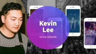 Live UI/UX Design with Kevin Lee - 1 of 3