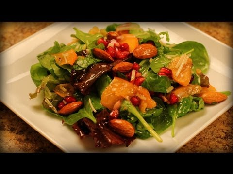 Persimmon Salad with Moroccan Sweet Vinaigrette Recipe ...