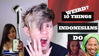 Gambar cover ORANG INDONESIA PALING MALAS JALAN KAKI?! 10 WEIRD THINGS INDONESIANS DO