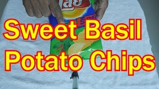 Sweet Basil Potato Chips Thumbnail