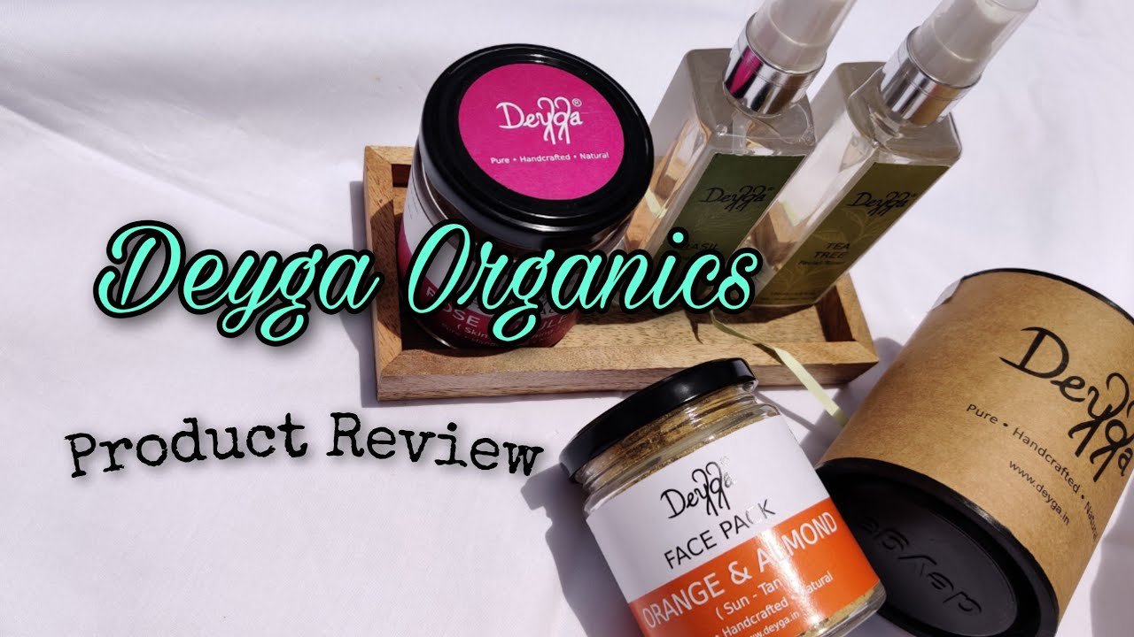 I TRIED BEAUTY PRODUCTS FROM DEYGA ORGANICS  The Small Town Blogger