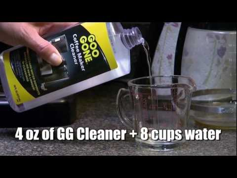How To Clean Automatic Drip Coffee Makers with Goo Gone®