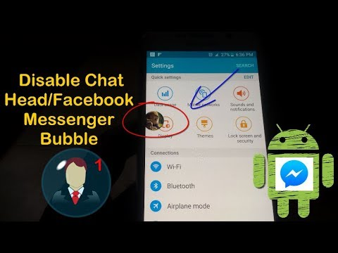 How To Disable Chat Heads Or Facebook Messenger Bubble?