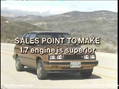 Official AMC Renault video : Renault Alliance/Encore promo - 1985