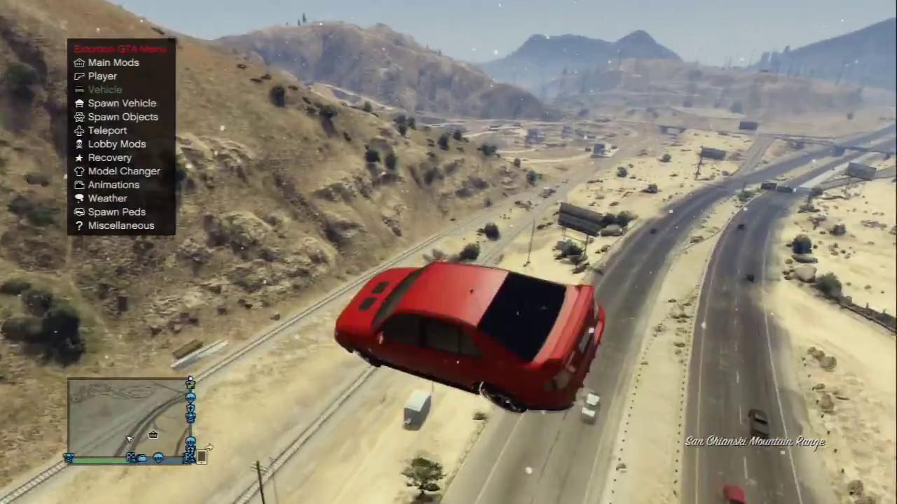 PS3/GTA 5 Extortion 3 5 Mod Menu Showcase + Download by Empty