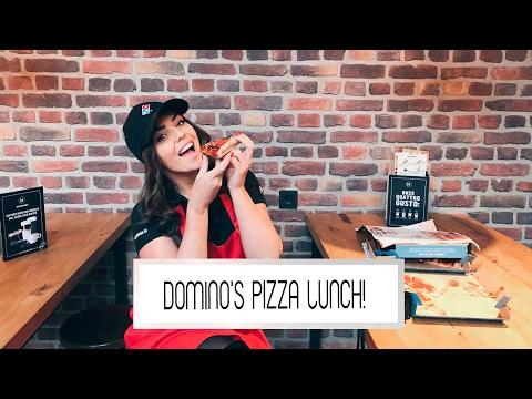KIJKERS VERRASSEN MET EEN PIZZA LUNCH! | Laura Ponticorvo | DOMINO'S