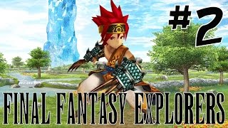 [2] Amazing Monk Abilities! (Final Fantasy Explorers Multiplayer)