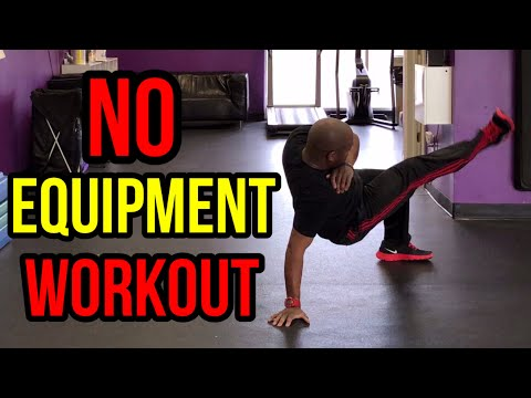 14 Minute No-Equipment Full Body Toning Workout