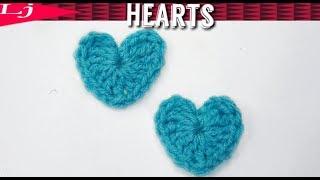 ⭐Crochet a heart easy⭐ 1 minute pattern!!!😱
