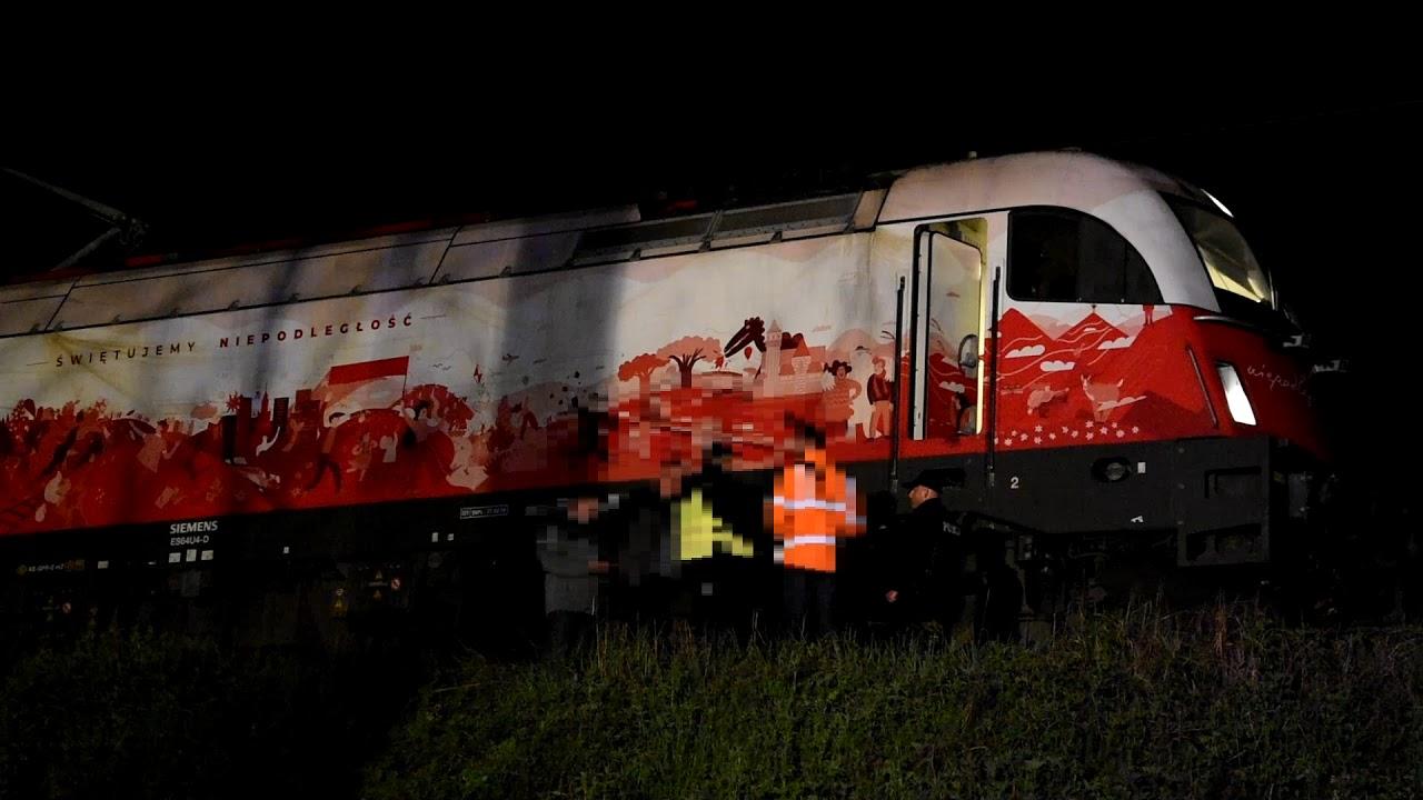 Wypadek na torach w Zielonej Górze. Pociąg potrącił mężczyznę