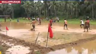 Mud football a mega hit in god