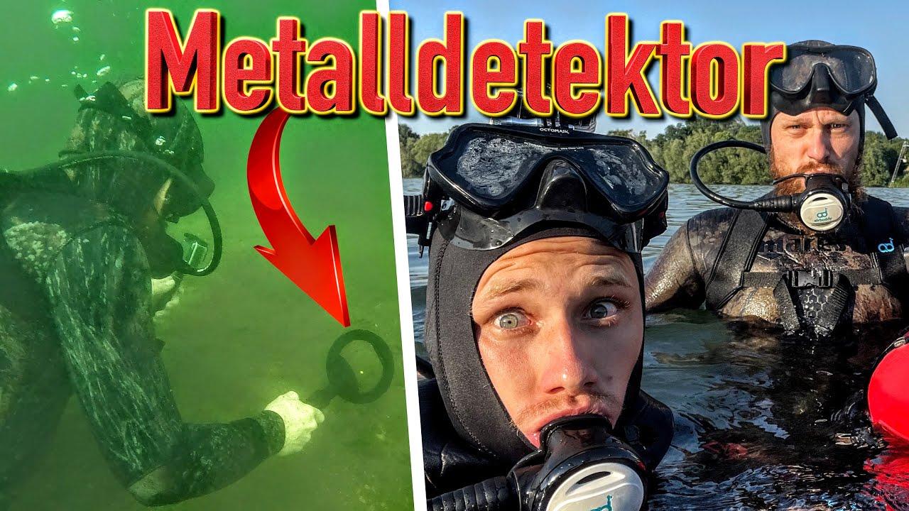 Unterwasser Schatzsuche mit Fritz Meinecke (Tauchen & Sondeln mit Metalldetektor)