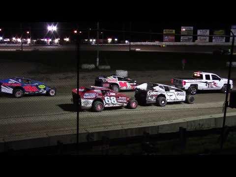 Ransomville Speedway SID Jeffrey Memorial Sportsman Feature Highlights 9-15-17