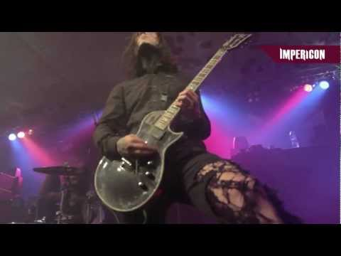Motionless in White - Black Damask (Official HD Live Video)