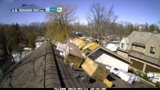 Highland Park Roofing Installers - Timelapse Video