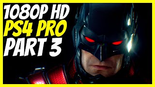 BATMAN ARKHAM KNIGHT - STORY MODE PLAYTHROUGH - 1080p HD NO COMMENTARY PS4 PRO GAMEPLAY - (PART 3)