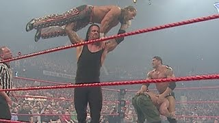 John Cena & Shawn Michaels vs. Undertaker & Batista: Raw,