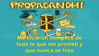 Propagandhi - (Traducida) Stick That Fucking Flag... You Sonofabitch