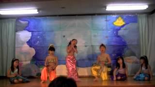 人魚姫1部。年長さん最後の劇発表会。