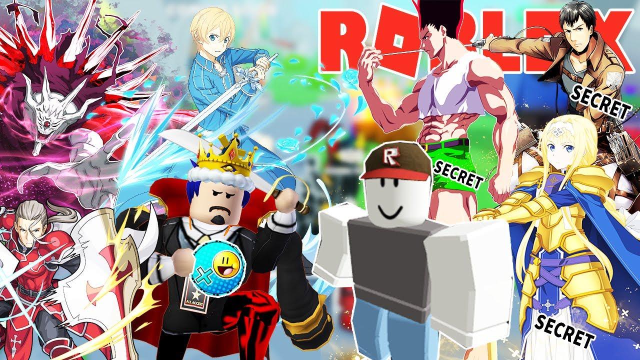 Roblox- VƯỢT TRIAL 60 CÙNG MỘT BẠN PRO ĐỘI HÌNH FULL NHÂN VẬT BÍ ẨN SECRET -Anime Fighters Simulator