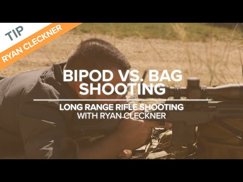 Bipod Vs Bag Shooting | Long-Range Rifle Shooting With Ryan Cleckner