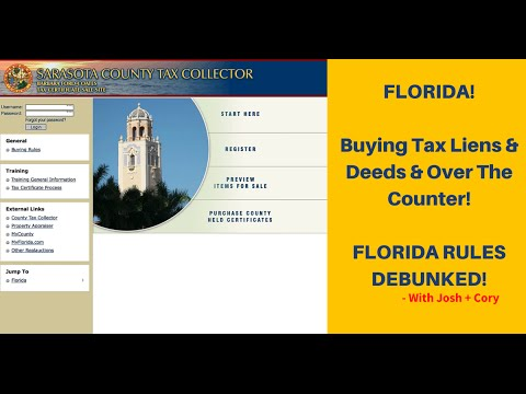 Investing In Florida: Tax Liens & Deeds Walkthrough (TLTV Ep: 10)