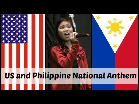 US and Philippine National Anthem | Charisma Joy