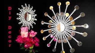 Beautiful wall decoration Sunburst mirror diy😍👍💕.