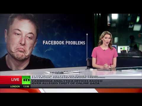 Time to #DeleteFacebook? Elon Musk, Julian Assange join chorus of skeptical users