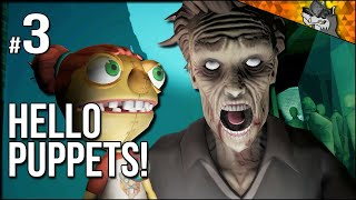Hello Puppets! | Part 3 | Rats, Mannequins, and HUMAN Puppets