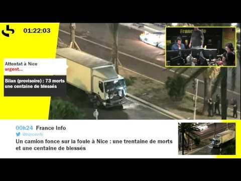 Attentat à Nice : nuit d'édition spéciale sur France Info (partie 2)