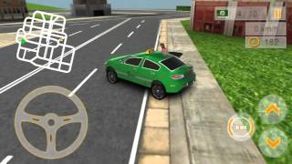 Modern Taxi Driving 3D Gameplay (Android) (1080p)