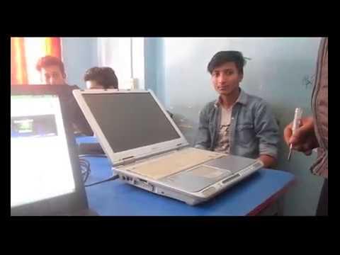 bill gates laptop at IIHT with CODER PRADIP