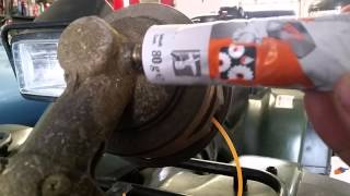 How to grease a STIHL gearbox