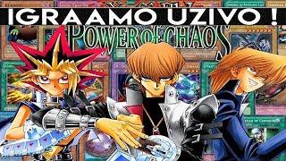 IGRAMO YU-GI-OH POWER OF CHAOS UZIVO !