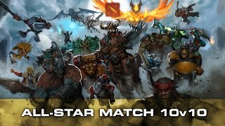 dota 2 all star match 10v10 highlights team chuan vs team n0tail ti5